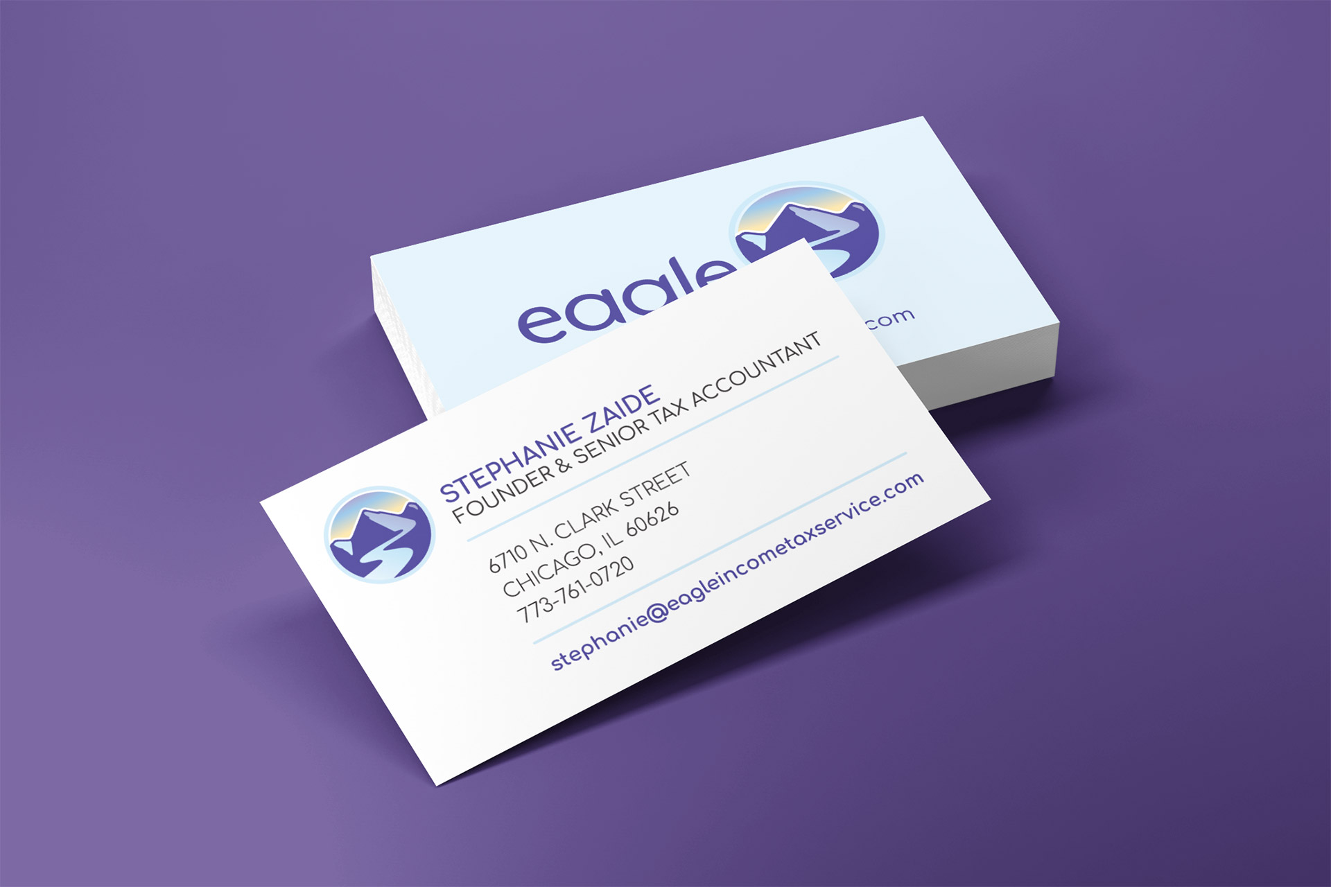 eagle small business cards