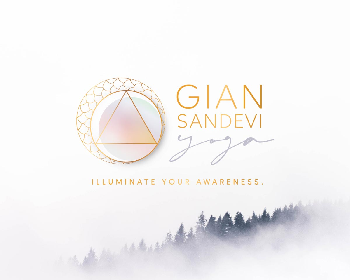 Gian Sandevi Yoga logo design california