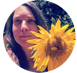 nicole lousteau graphic designer sunflowers